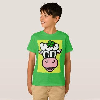 BOY/GIRL ST PATRICK Tag-Eis Creme-Kuh FEIERTAG T-Shirt