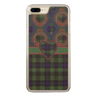 Boyd Clan karierter schottischer Kilt Tartan Carved iPhone 8 Plus/7 Plus Hülle