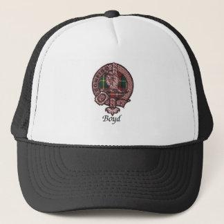 Boyd Clan-Wappen Truckerkappe