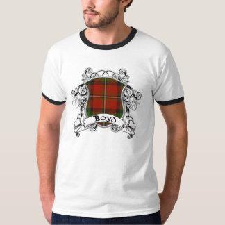 Boyd Tartan-Schild T-Shirt