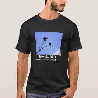 Boyds, MD, Zuhause im Land T-Shirt