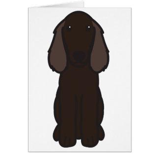 Boykin Spaniel-HundeCartoon Karte