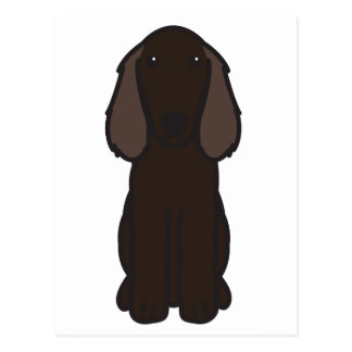 Boykin Spaniel-HundeCartoon Postkarte