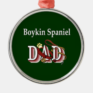 Boykin Spaniel-Vati Silbernes Ornament