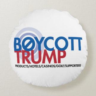 Boykott-Trumpf Rundes Kissen