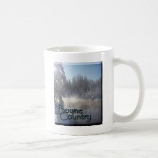 Boyne Fluss-Winter Kaffeetasse