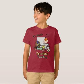 BOYS/GIRLS T-Junge und der schreckliche T-Shirt