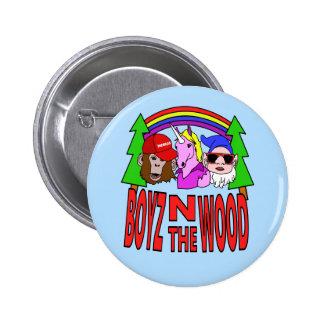 Boyz im Holz Runder Button 5,7 Cm