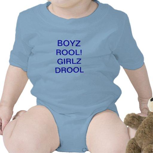 BOYZ ROOL! GIRLZ GEIFER BABY STRAMPELANZUG