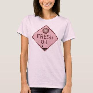 BP-Öl-Fleck-Shirt - frisches Öl T-Shirt