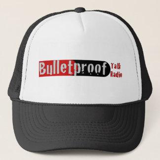 BPTR roter und schwarzer Kugel-Logo-Hut Truckerkappe