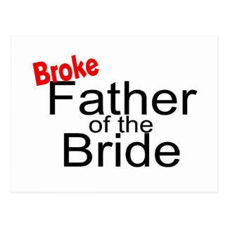 Brach Vater der Braut Postkarte