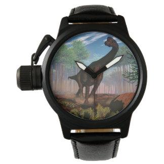 Brachiosaurusdinosaurier - 3D übertragen Armbanduhr