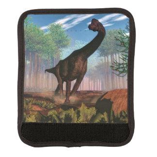 Brachiosaurusdinosaurier - 3D übertragen Koffergriffwickel
