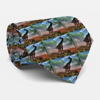 Brachiosaurusdinosaurier - 3D übertragen Krawatten