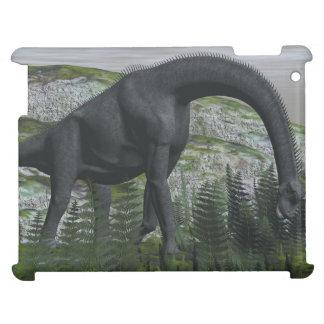 Brachiosaurusdinosaurier, der Farn isst - 3D iPad Hülle