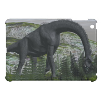 Brachiosaurusdinosaurier, der Farn isst - 3D iPad Mini Hülle