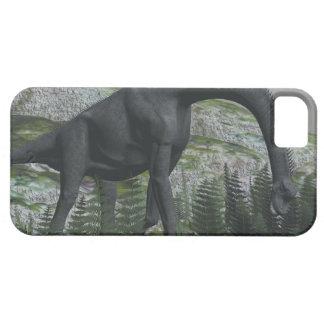 Brachiosaurusdinosaurier, der Farn isst - 3D Schutzhülle Fürs iPhone 5