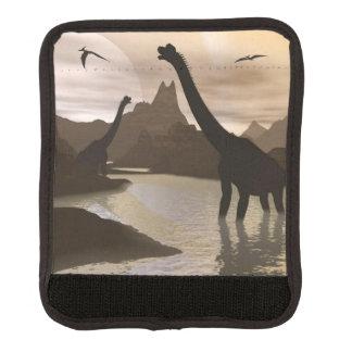 Brachiosaurusdinosaurier im Wasser - 3D übertragen Gepräckgriffwickel