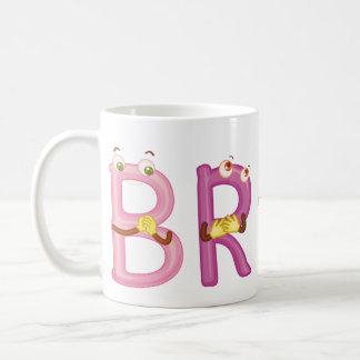 Brad-Tasse Kaffeetasse