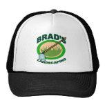 Brads landschaftlich gestaltenauszug-Film Trucker Caps