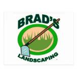 Brads landschaftlich gestaltenauszug-Film Postkarten