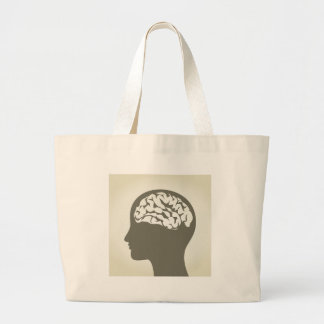 Brain5 Jumbo Stoffbeutel