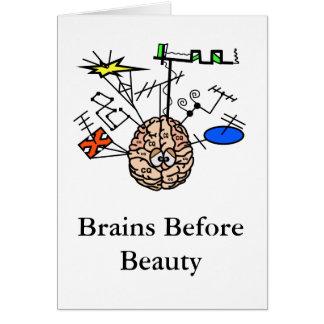 Brainy Amateurfunk-fertigen lustige Karte