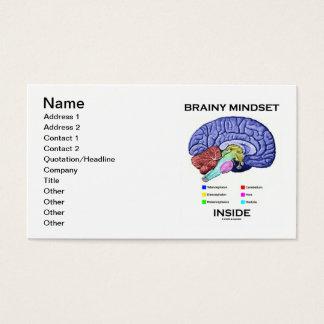 Brainy Denkrichtung-Innere (anatomisches Gehirn) Visitenkarte