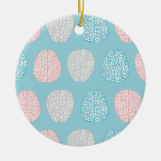Brainy Pastellmuster (fantastische Pastellgehirne) Keramik Ornament
