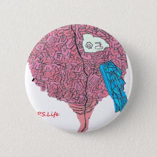 Brainy Runder Button 5,7 Cm