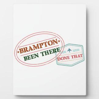 Brampton dort getan dem fotoplatte