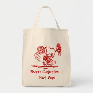Brand-Kalorien - nicht Gas! Einkaufstasche