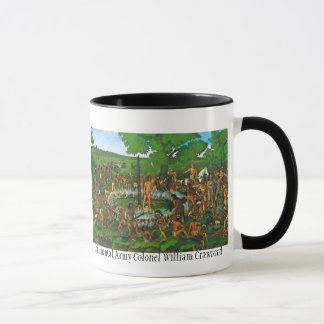Brand, kontinentaler Oberst William Crawford Tasse