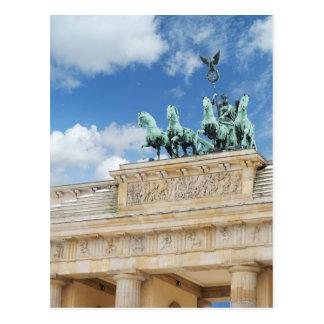 Brandenburg-Felsen in Berlin, Deutschland Postkarte