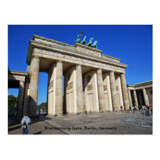 Brandenburger Tor, Berlin, Deutschland Postkarte