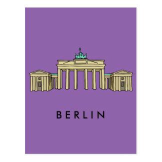 Brandenburger Tor Berlin Postkarte