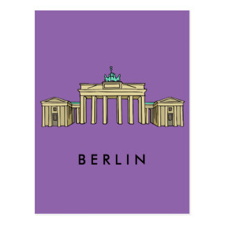 Brandenburger Tor Berlin Postkarten