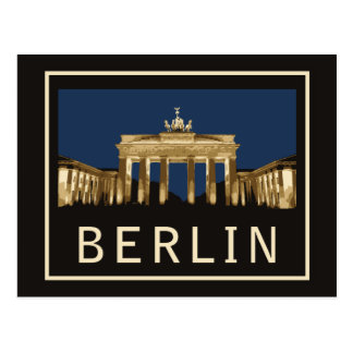 Brandenburger Tor Berlins Postkarte
