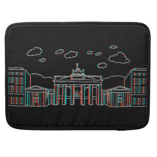 Brandenburger Tor in Berlin 3-D Sleeve Für MacBook Pro