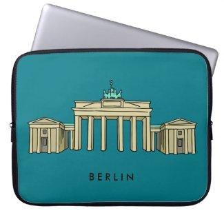 Berlin Laptop sleeves mit aufdruck