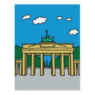 Brandenburger Tor in Berlin Postkarten