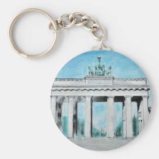 Brandenburger Tor Skizze Schlüsselanhänger