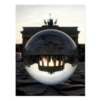 Brandenburger Tor Sonnenuntergang, Berlin Postkarte