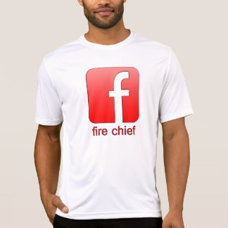 Brandmeister Facebook Logo-einzigartiger T-Shirt