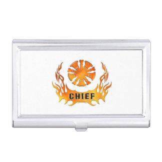Brandmeister Flammen- Visitenkarten Etui