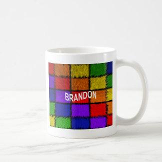BRANDON (männliche Namen) Kaffeetasse