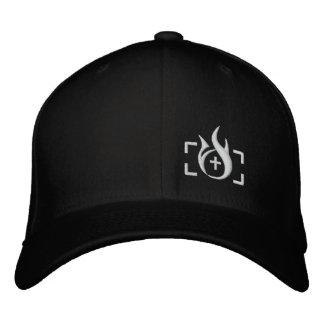 Brandstiftungs-Tinten-Logo Flexfit Hut Bestickte Mütze