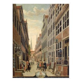 Brandstweite in Hamburg, 1775 Postkarte