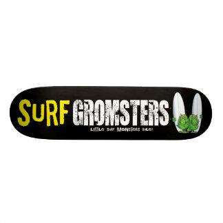 Brandung Gromsters völlig Schwarzes Personalisiertes Skateboarddeck